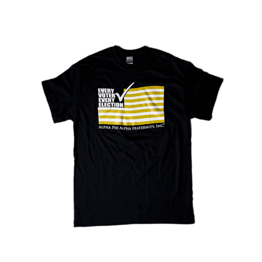 Alpha Flag Vote Tee