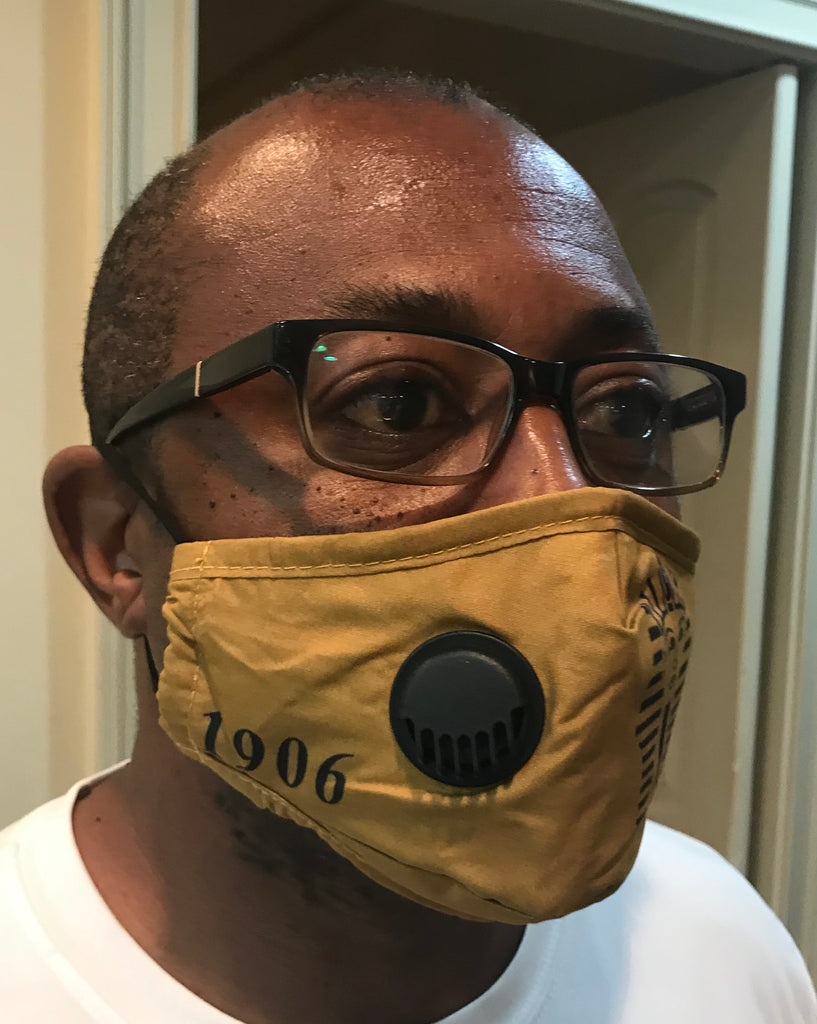 Alpha Phi Alpha Mask with respirator