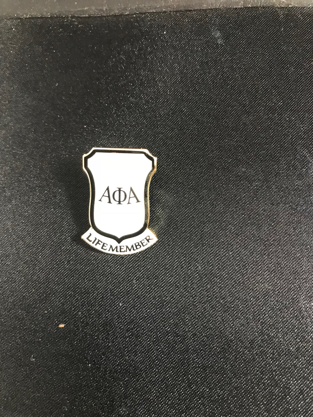 Life Member Lapel Pin(White)