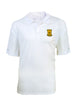 Alpha Life Member White Polo Shirt - High Quality Antigua Brand Dri-Fit shirt