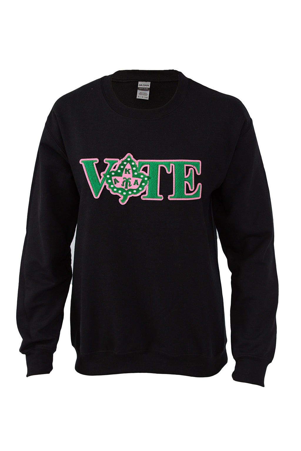 Alpha Kappa Alpha Vote Sweatshirt with Ivy Chenille