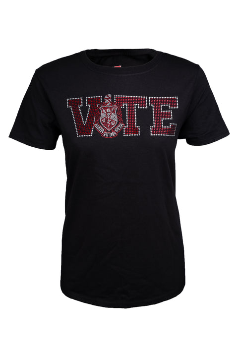 Delta Sigma Theta VOTE Bling Shirts