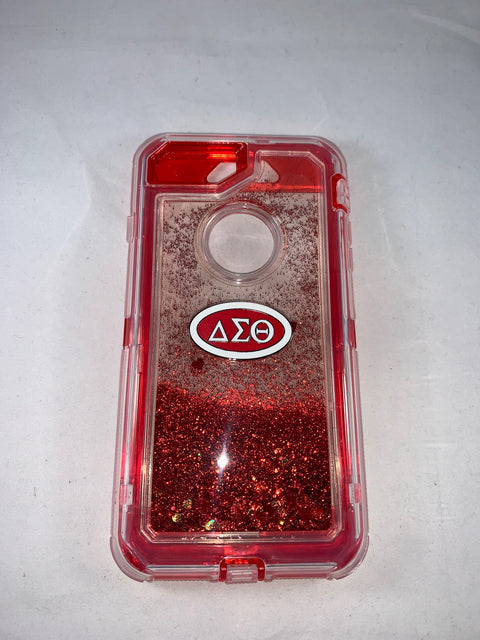 Delta IPhone 8Plus Glitter Phone Cover