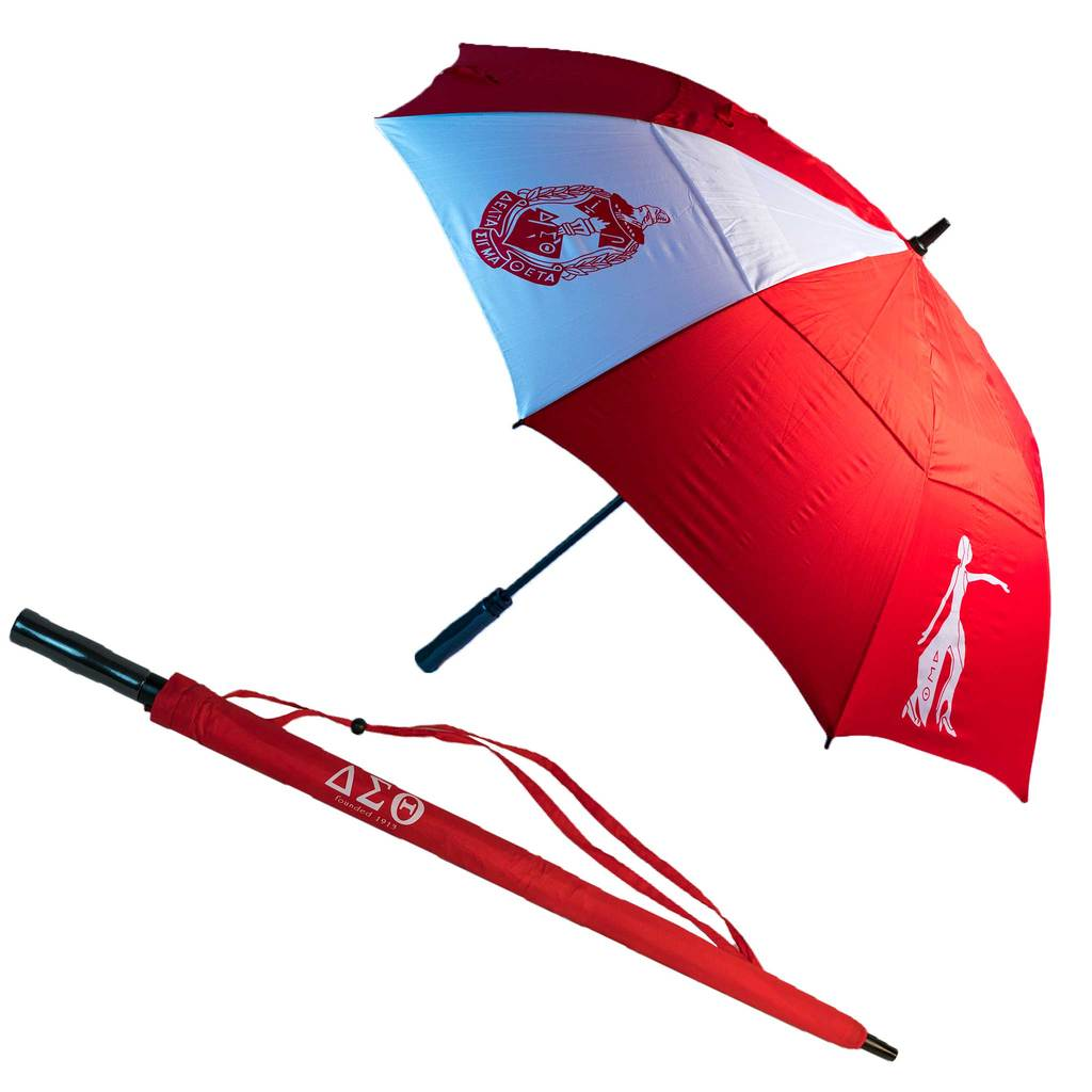Delta Sigma Theta Large Golf Umbrella