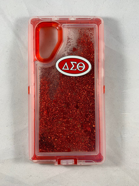 Delta Note 10 Glitter Phone Cover
