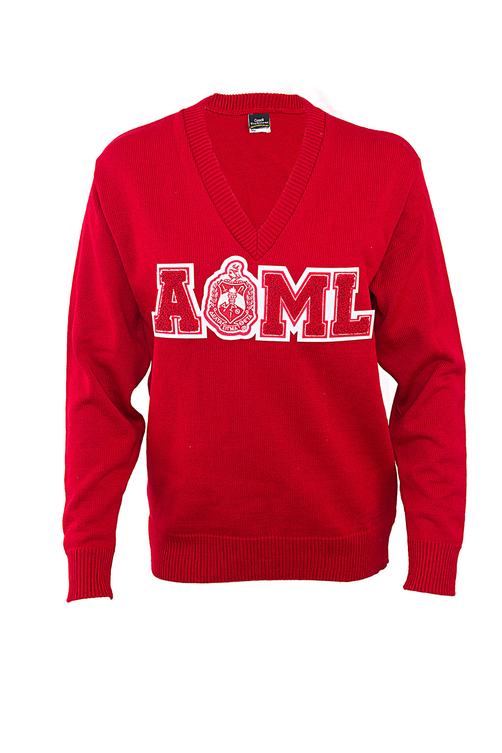 Delta All of My Love Red V-neck Sweater