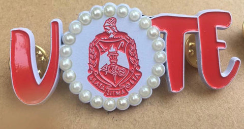 The Original Delta Sigma Theta Vote Pin
