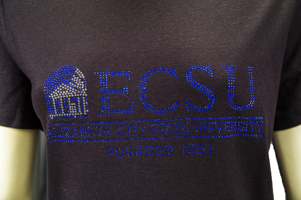 Elizabeth City State University Bling Shirt