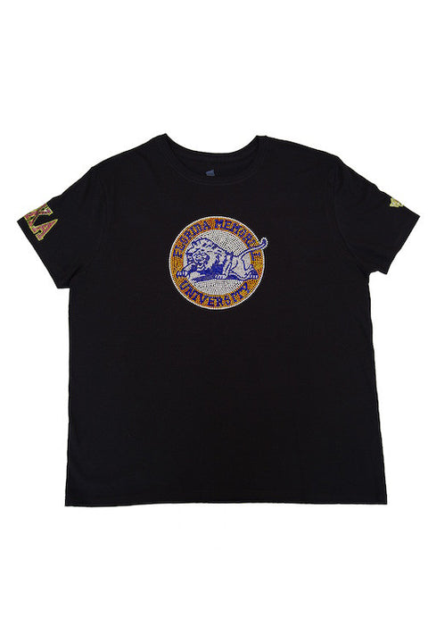 Florida Memorial University Bling AKA Shirt