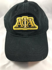 Alpha Hat with Bullion Woven Design