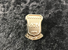 Alpha Life Member Gold Plated lapel pins