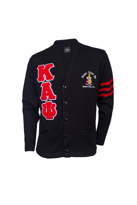 Kappa Alpha Psi Black Cardigan
