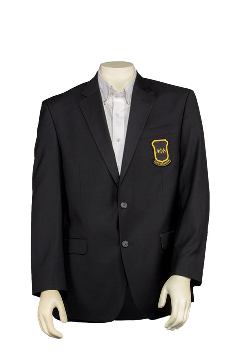 Alpha Phi Alpha Life Member Blazer – Worsted Wool Blend/Tropical Weight