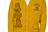 Alpha Phi Alpha Old Gold Old School Cardigan
