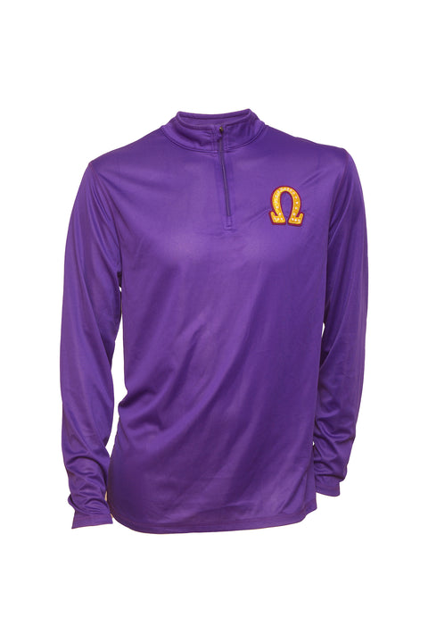 Omega Dri Fit ¼ Zip Long Sleeve Shirt
