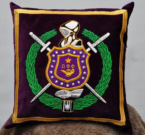 Omega Psi Phi Pillow