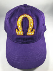 Omega Hat with bullion Omega symbol