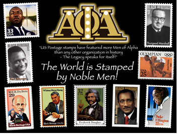 Alpha Phi Alpha-Noble Men Print
