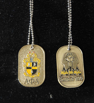 Alpha Phi Alpha-Dog Tags