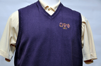 Omega Psi Phi-Purple Sweater Vest(Three Letters)