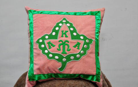 Alpha Kappa Alpha Pillows