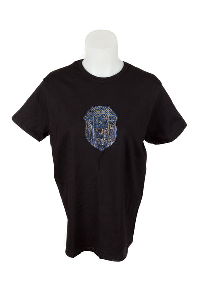 Zeta Phi Beta Crest Bling Shirt