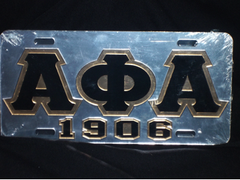 Alpha Phi Alpha-1906 License Plate