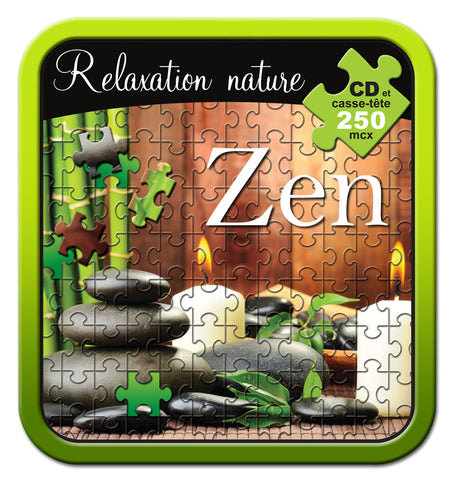Relaxation Nature Zen - CD/CASSE-TÊTE