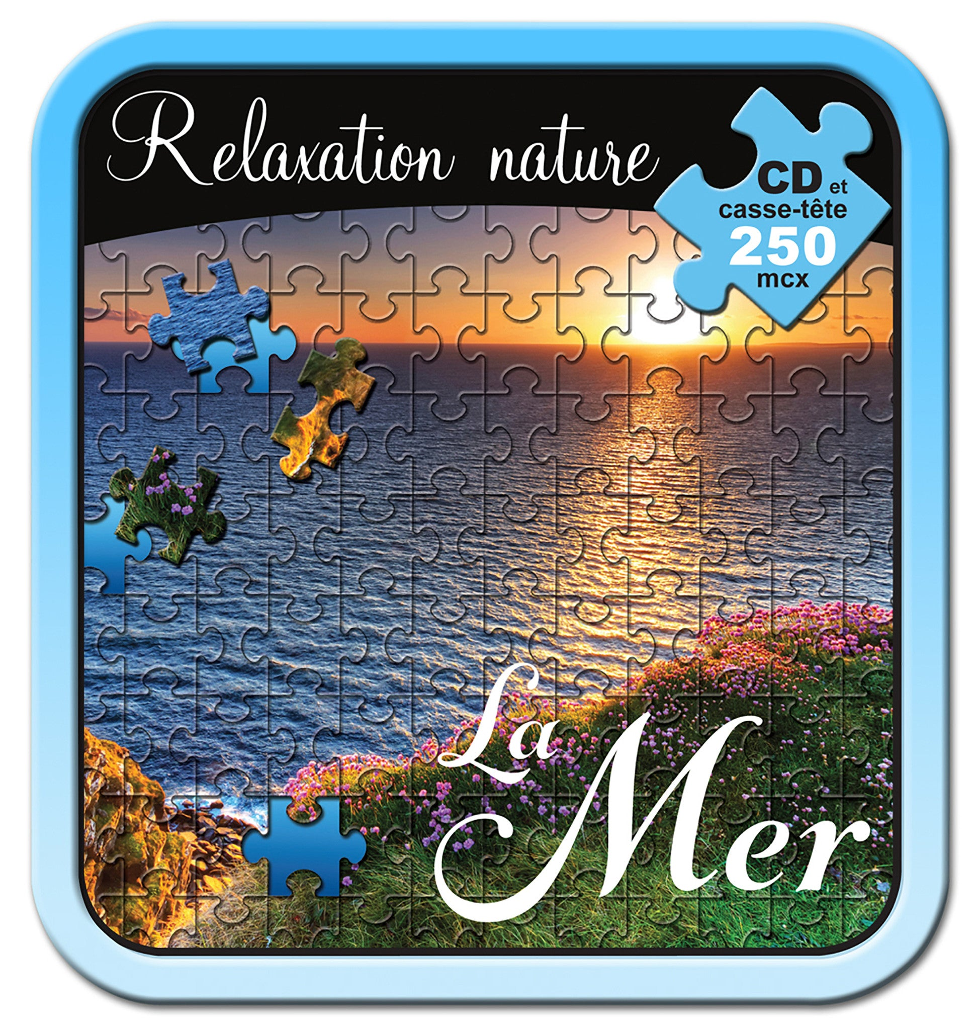 Relaxation Nature La Mer - CD/CASSE-TÊTE