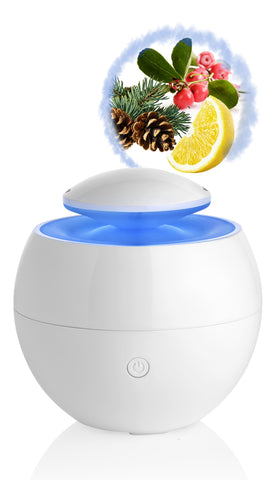 DIFFUSEUR HUMIDIFICATEUR ULTRASONIQUE OXYGEN // noel19