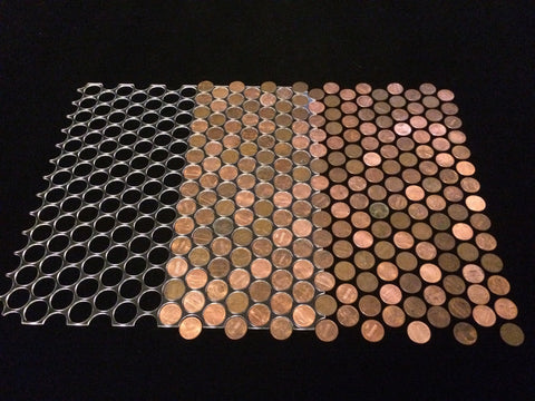 Penny Floor Template Jig Plexiglass Without Border