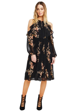 astr the label persephone floral dress