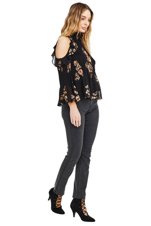 astr the label shea floral top