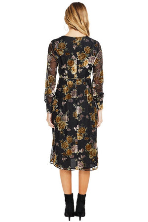 astr-sonya-wrap-dress-black-floral-velvet-burnout