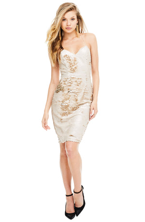 astr-the-label-gold-sequin-dress