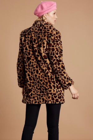 Animal Instinct Faux Fur Jacket