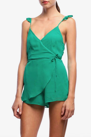 line-and-dot-wrap-front-green-summer-romper