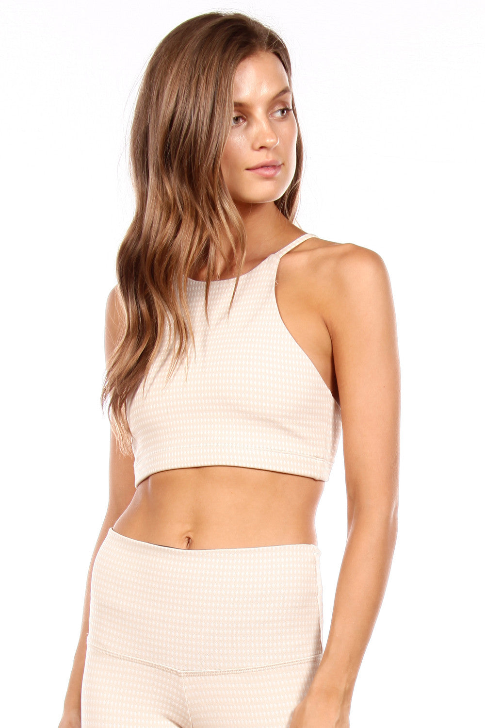 The Beau Bra in Nude Chex