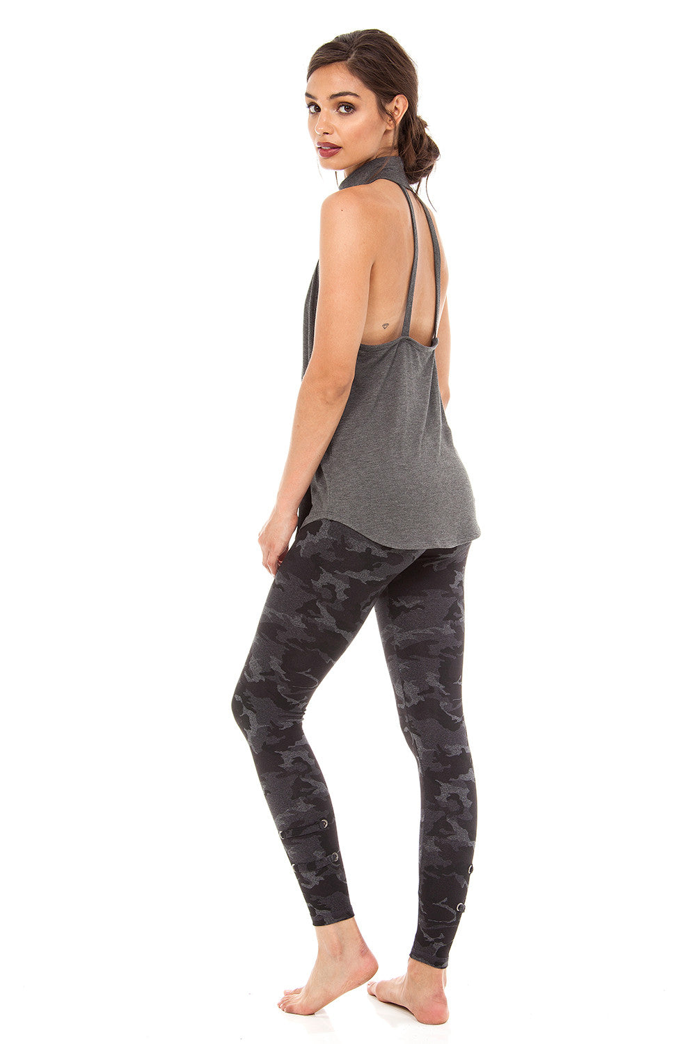 BROOKLYN TANK - DARK GREY