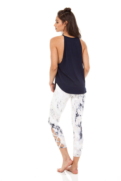 The Elle Tank in Navy