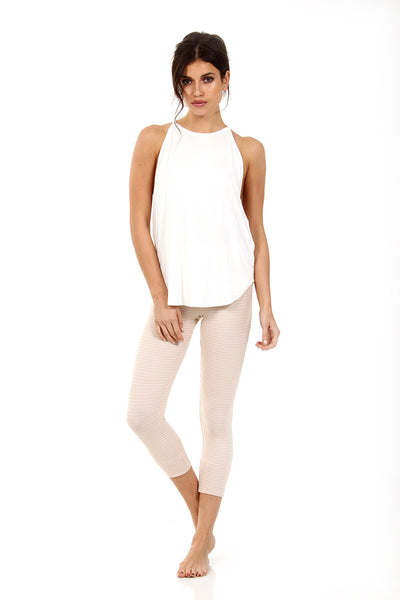 HUDSON CROP - NUDE CHEX