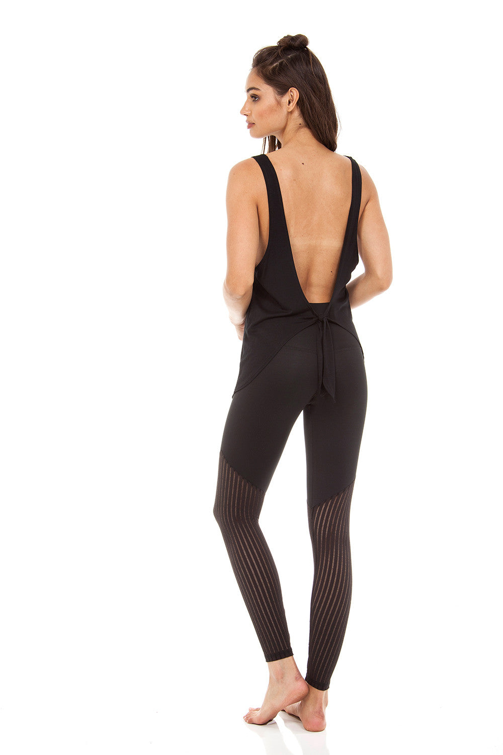 The Jax Ankle Pant in Mesh