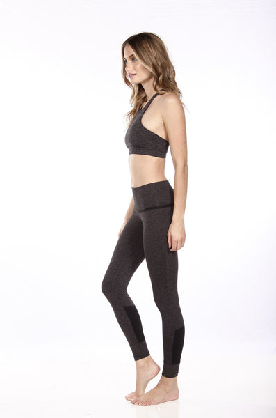 The Shameless Pant in Dark Grey and Black