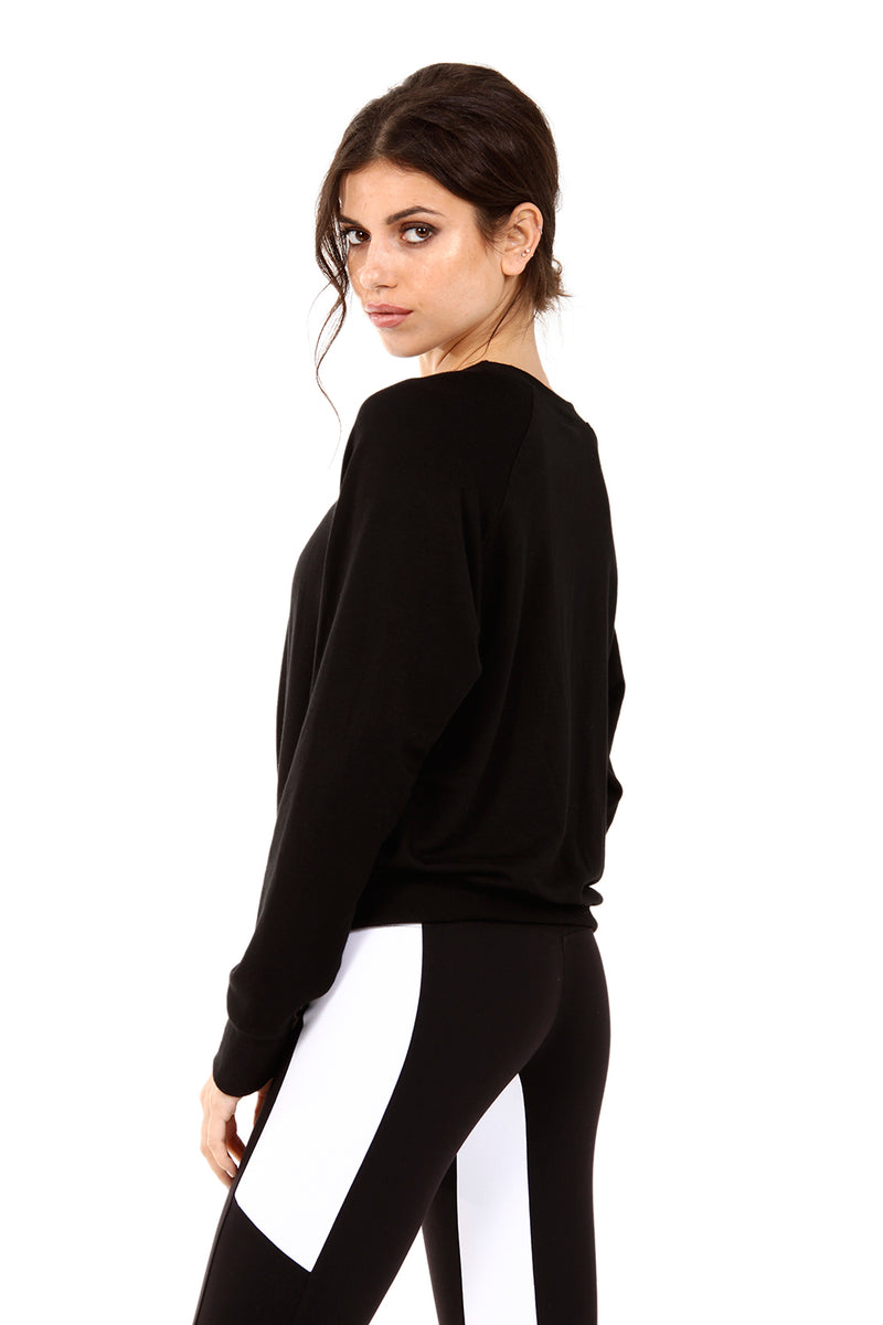 SKY SWEATSHIRT - BLACK