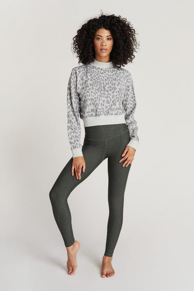 GEORGIE SWEATSHIRT- GREY FRECKLE