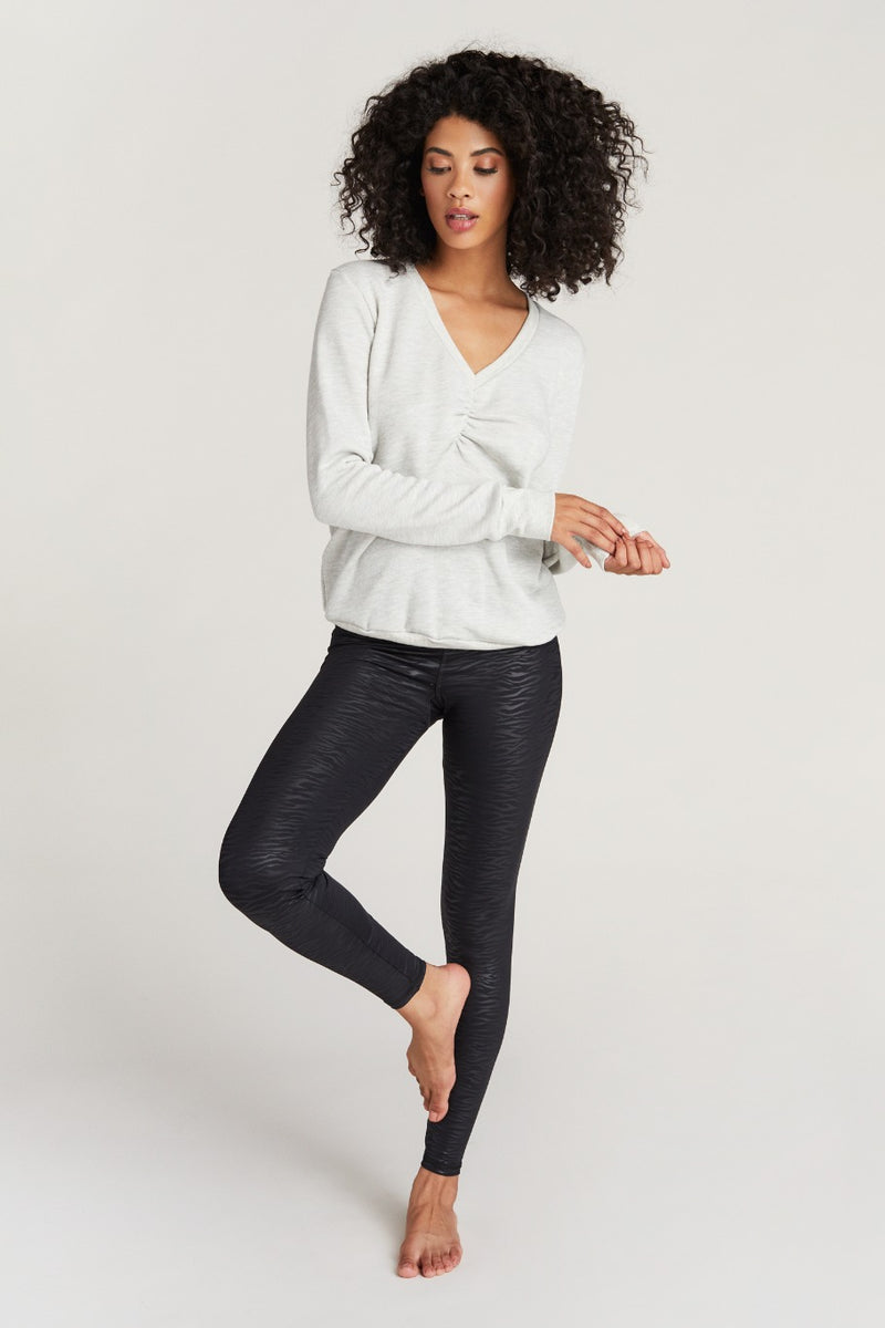 NAPA SWEATSHIRT- HEATHER GREY