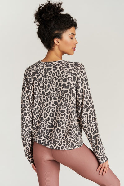 SAWYER SWEATSHIRT- BLUSH FELINE