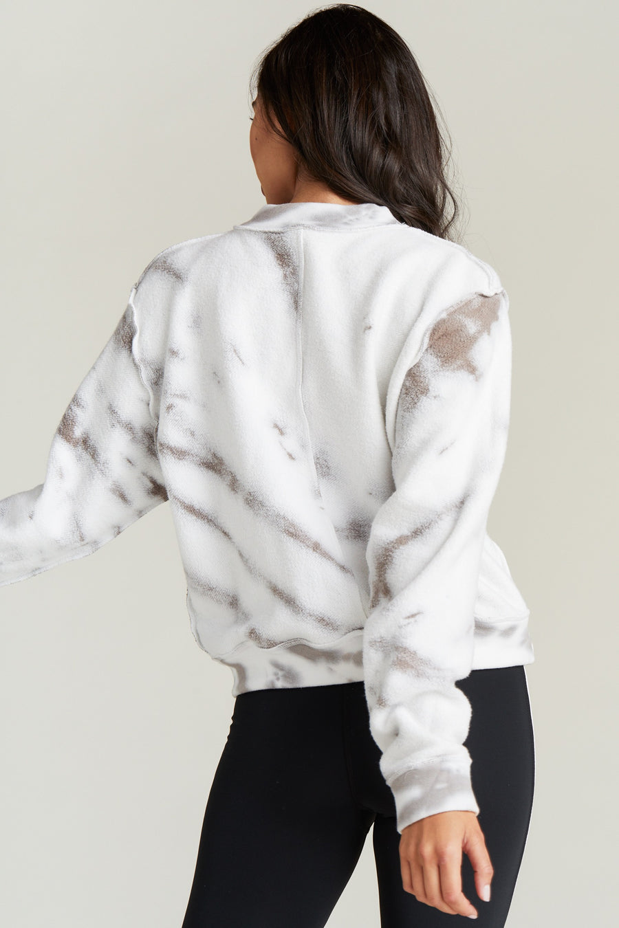 GEORGIE SWEATSHIRT- TOASTED TIE DYE