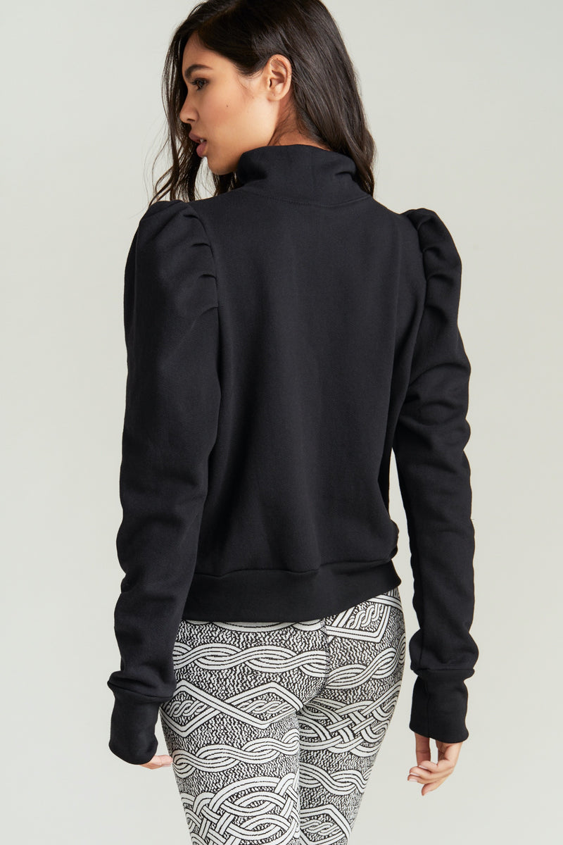 POPPY SWEATSHIRT- BLK