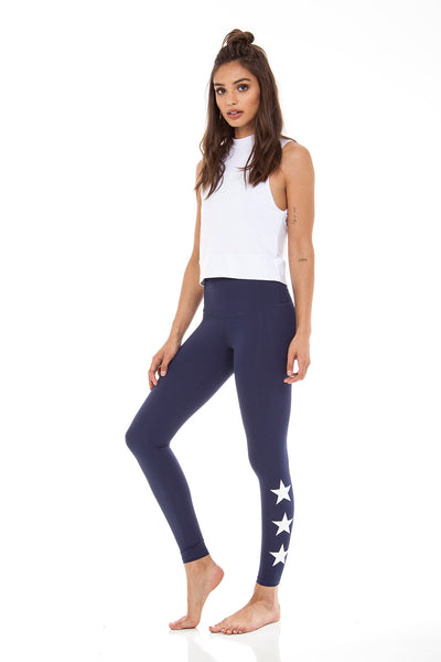STAR ANKLE - NAVY/WHITE STAR
